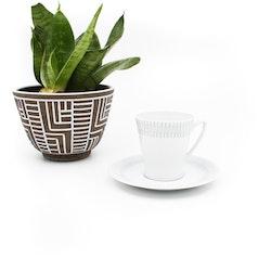 Kaffekoppar - Alf Jarnestad, Upsala Ekeby Karlskrona