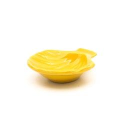 Mindre gul snäckskål - Bo Fajans