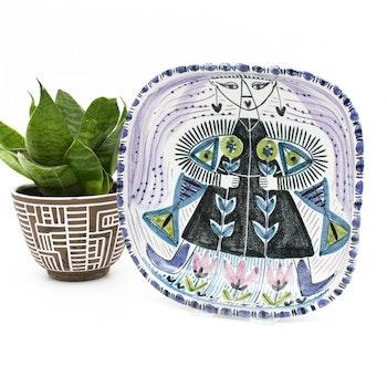 Skål 40-tal, Jane Wåhlstedt - JaNi Keramik