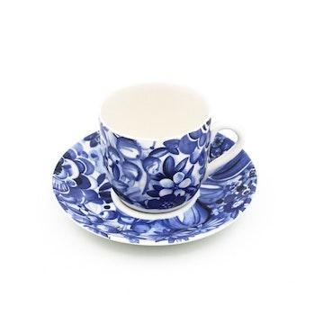 Kaffekopp - Blå blomster, Berit Ternell - Gefle