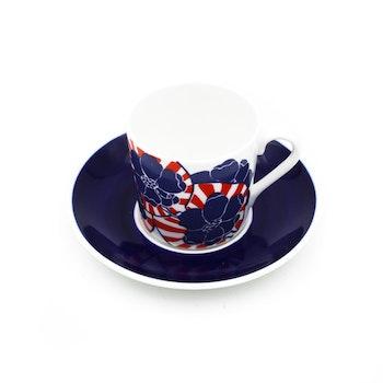 Kaffekopp med fat - Japan, Paul Hoff, Gustavsberg