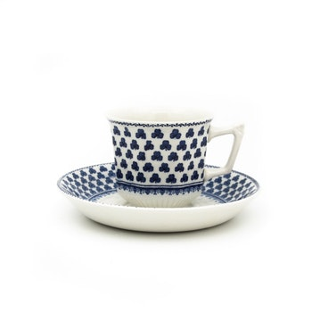 Kaffekopp med fat - Adams, England