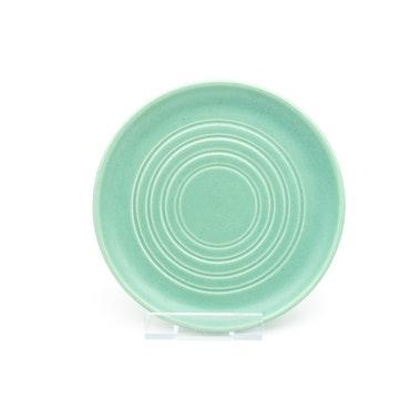 Assiett, celadongrön - Bo Fajans