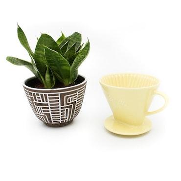 Kaffefilter 102, porslin - Melitta