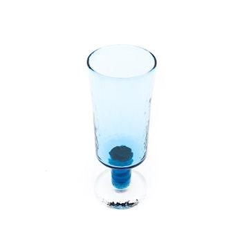 Pokalvas, blå