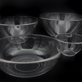 Skål, glas - Fuga, Orrefors