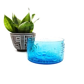 Glasskål - Flora, Oivo Toikka, Nuutajärvi