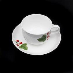 Kaffekopp med fat, Diamant - Rörstrand
