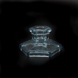 Ljusstake, glas