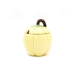 Lockburk i porslin - äpple