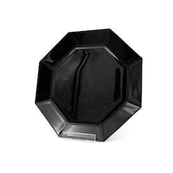 Mattallrik, svart glas - Arcoroc