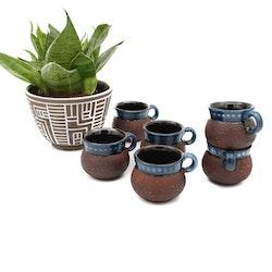 Mustkoppar/ glöggkoppar - Gabriel Keramik