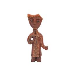 Figurin i keramik - Lars Bergsten