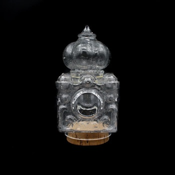Pampig godisgömma - Skrufs glasbruk