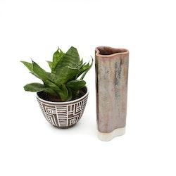 Vas - keramik, oljeskimrande
