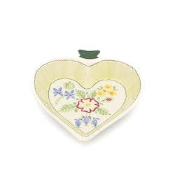 Uppläggningsfat/ skål - Hjärta, JIE keramik