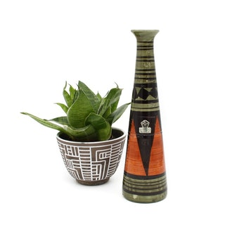 Blomvas i keramik - Syco
