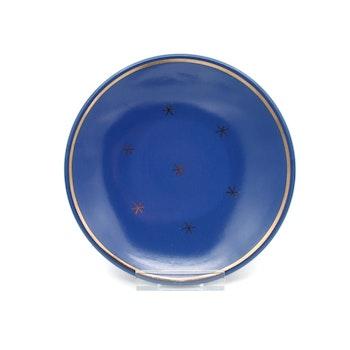 Blå assiett - A.K 541, Nittsjö Keramik