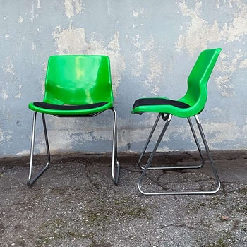 Stol, plast och stål - Svante Schöblom, Overman