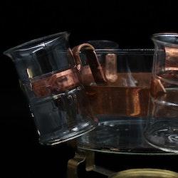 Glöggset i glas och koppar - Nils Johan