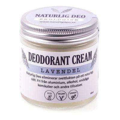Ekologisk Deodorant, LAVENDEL, 60 ml