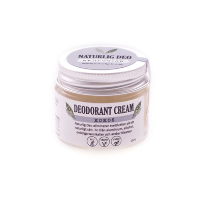 Ekologisk Deodorant, KOKOS, 15 ml
