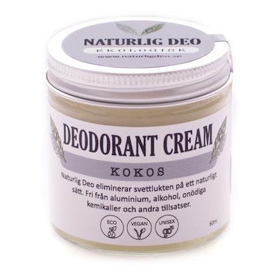 Ekologisk Deodorant, KOKOS, 60 ml