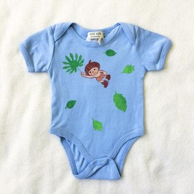 Babybody Acorns Fly Ekologisk