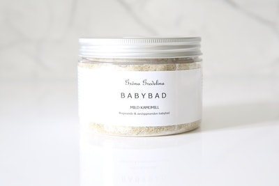 Babybad mild kamomill & epsom