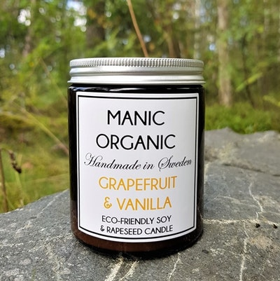 Doftljus Eco-friendly GRAPEFRUIT & VANILLA