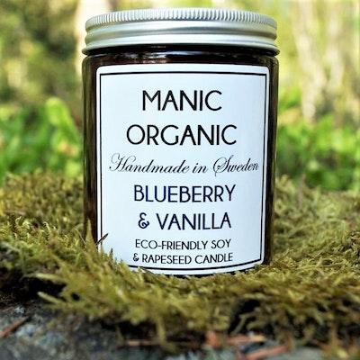 Doftljus Eco-friendly BLUEBERRY & VANILLA