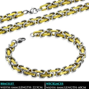 Set Halsband/Armband Rostfritt