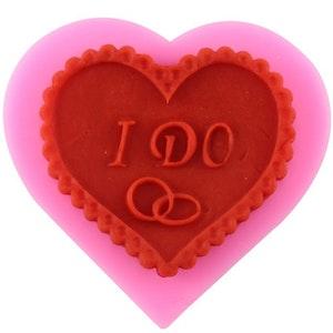 Silikonform Hjärta/I do