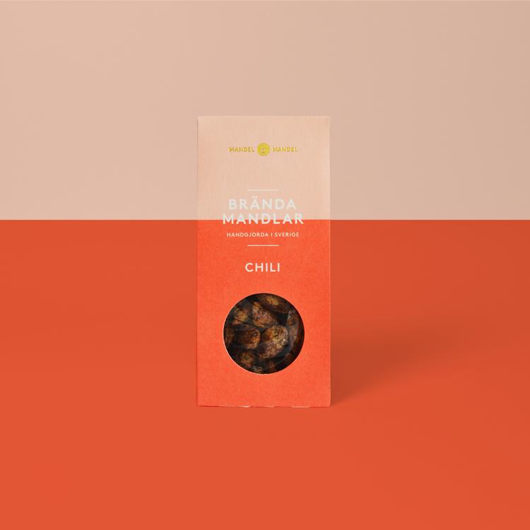 Brända Mandlar Chili