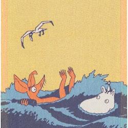 WAVES MOOMIN HANDDUK
