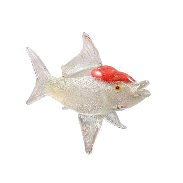 GLASSKULPTUR FISK