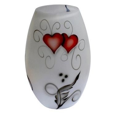 VAS HEART CRYSTAL INK (LITEN)