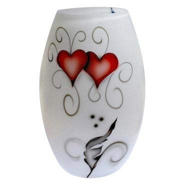 VAS HEART CRYSTAL INK (STOR)