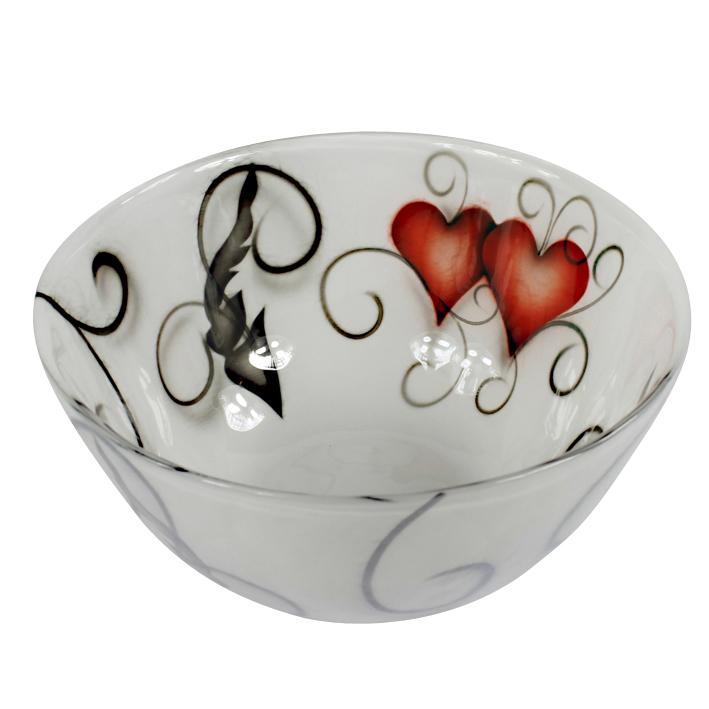 SKÅL HEART CRYSTAL HEART (MELLAN)