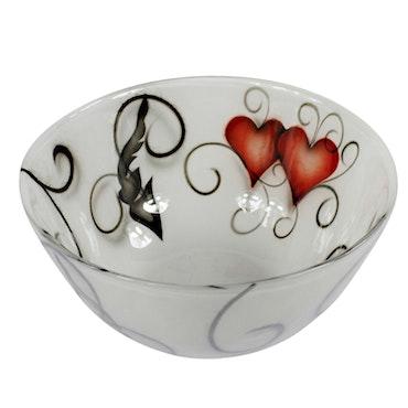 SKÅL HEART CRYSTAL HEART (LITEN)