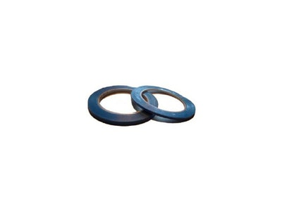 3M Stripetejp blå plast 6,3 mm x 33 m