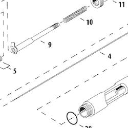 Färgnål Hi-Line/High Perf. Plus HP-CH/CP/BCP 0,3 mm (ref 4)