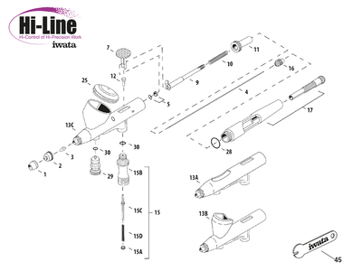 O-ring Hi-Line HP-AH/BH/CH Custom Micron CM-CP