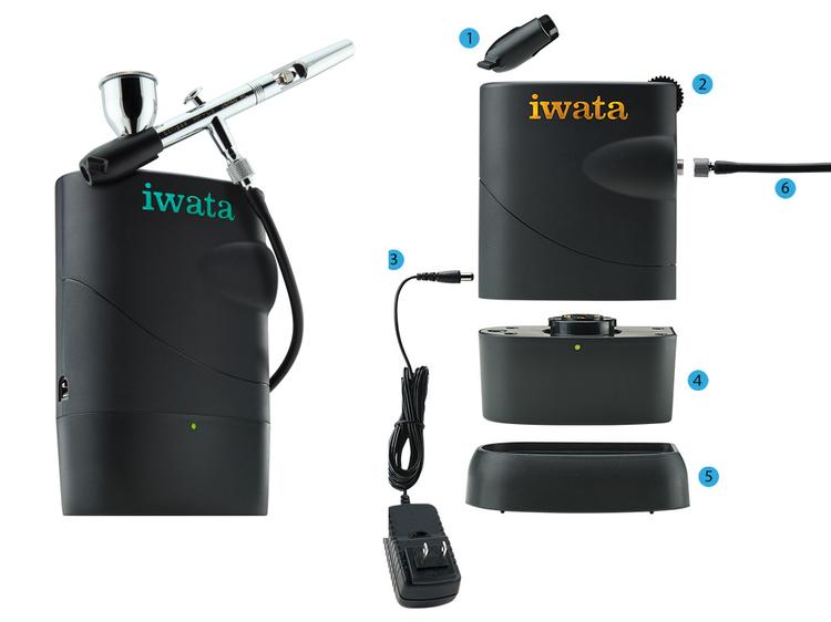 Iwata Freestyle Air Kompressor stående