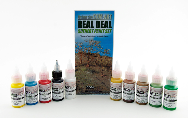 Com-Art Real Deal Scenery Kit Färgkit innehåll