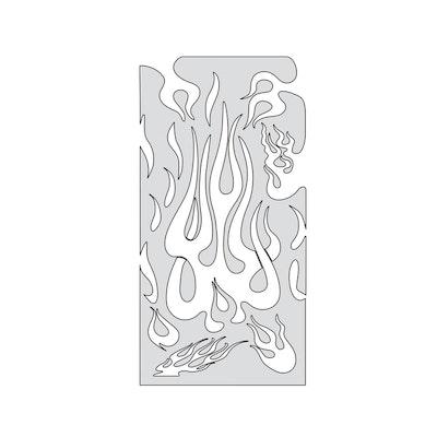 "Artool Flame Master The Medium by ""Mr. J"" Julian Braet airbrushmall"