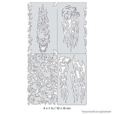 Artool Skullophenia Nano by Craig Fraser airbrushmall