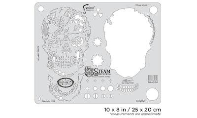 Artool Steam Driven Steam Skull by Craig Fraser airbrushmall