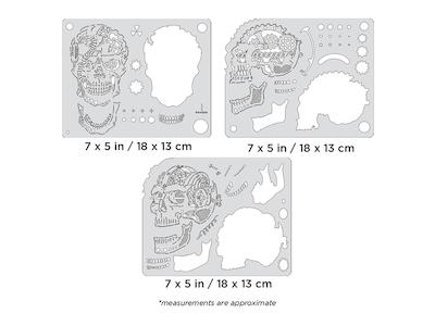 Artool Steam Driven Skullmaster Mini Series by Craig Fraser - Set med tre airbrushmallar