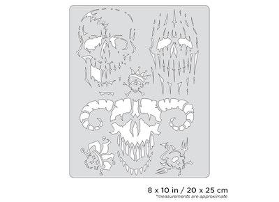 Artool Curse of Skullmaster Evil-Horde by Craig Fraser airbrushmall